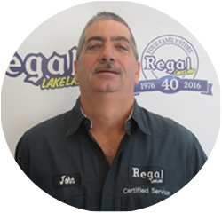 Certified Technician John Montesano in Service Technicians at Regal Honda