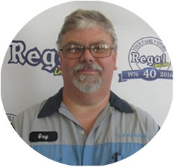 Certified Honda Technician Greg Grady in Service Technicians at Regal Honda