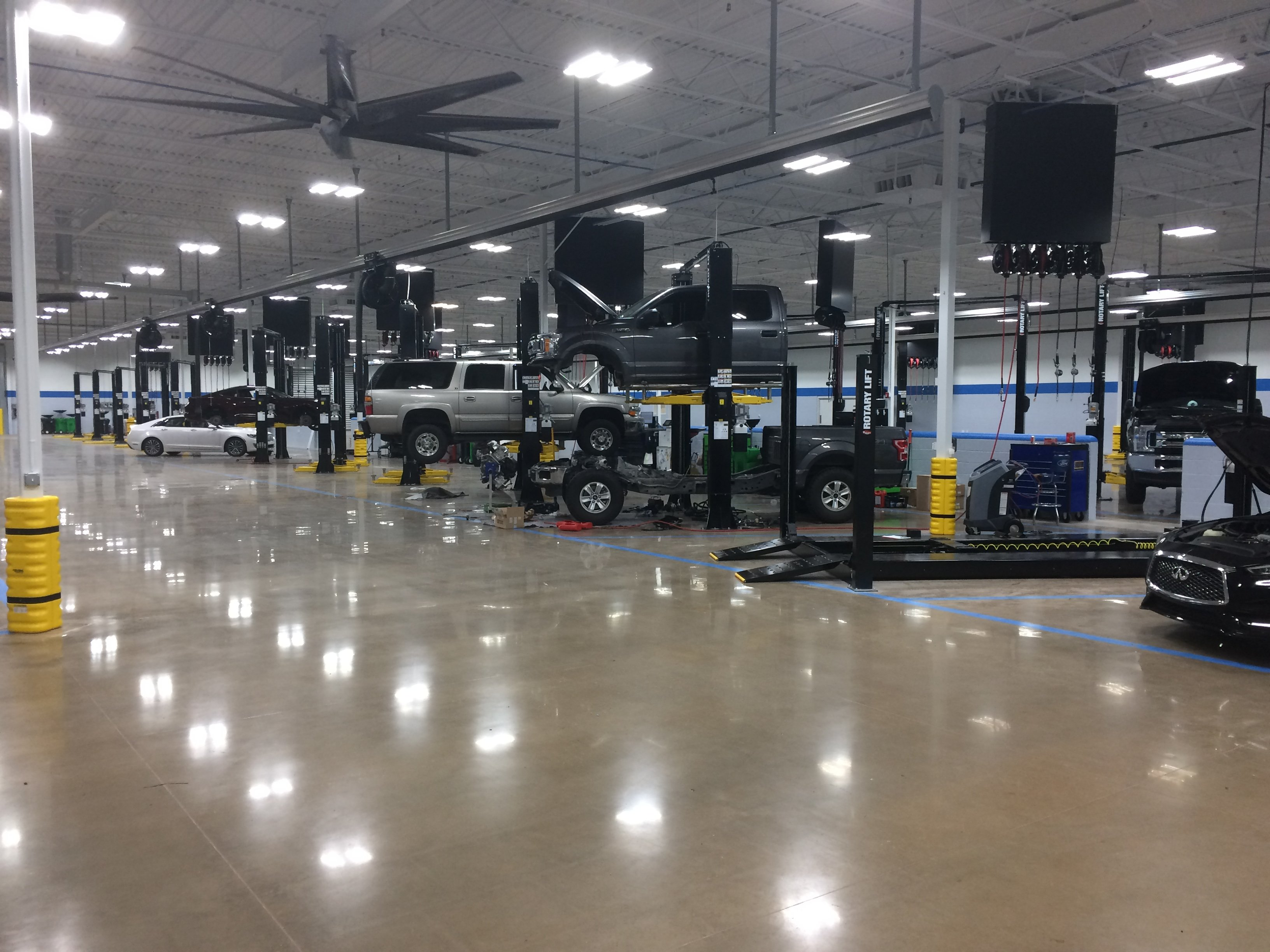 Bozard Service Department Expansion 9-2019