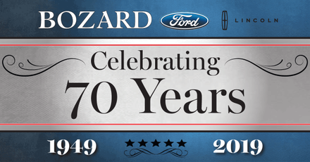 Bozard 70th Anniversary of Ford Lincoln Dealership in St Augustine FL