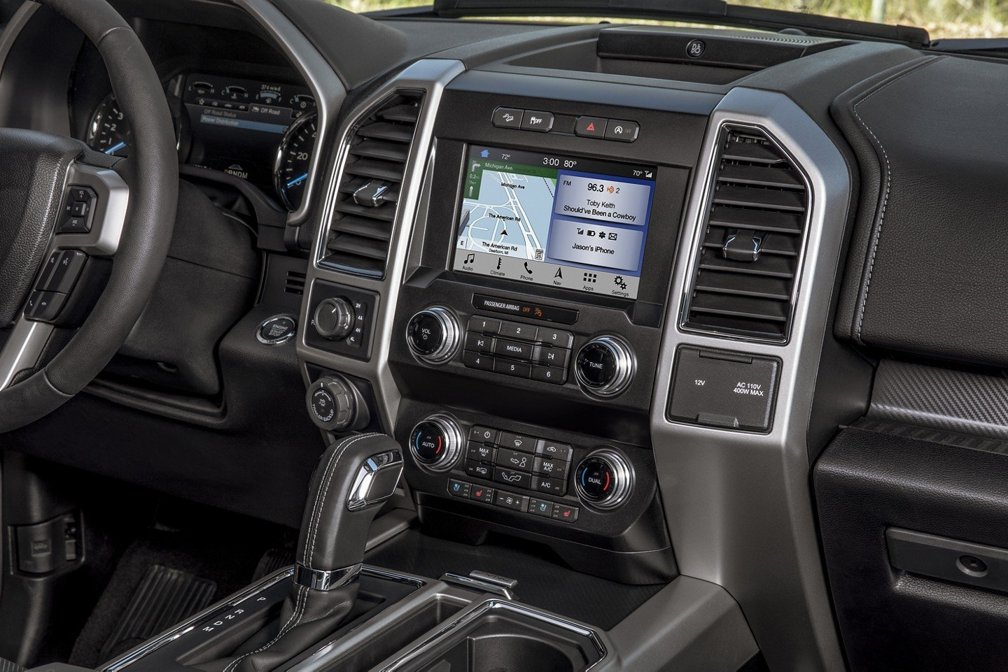 New Ford F-Series Pickup Truck Dash Console
