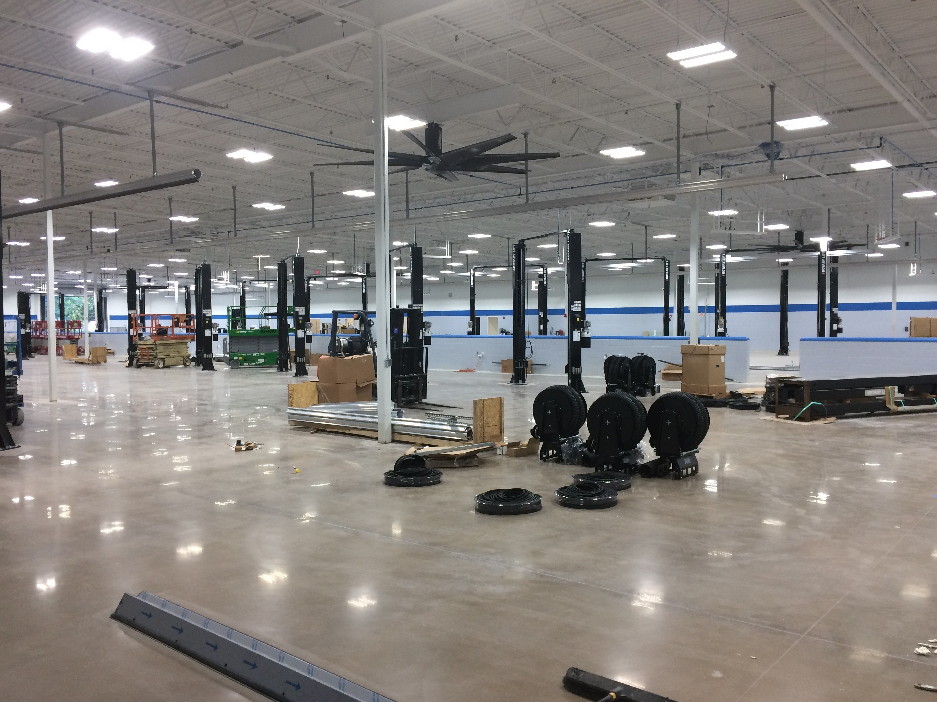 Bozard Ford Lincoln New Service Center Expansion