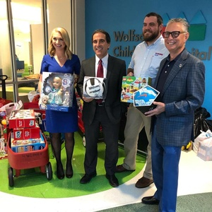 Bozard and Action News Jax Family Focus Donate Toys to Children's Hospital in Jacksonville