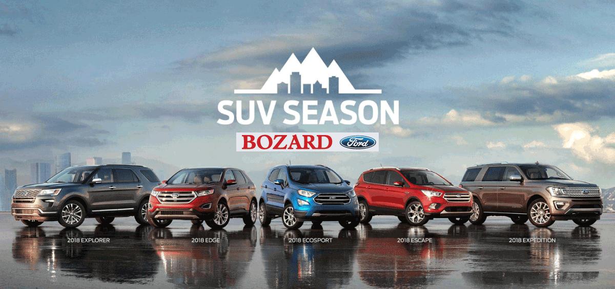 2018 Ford SUV Season