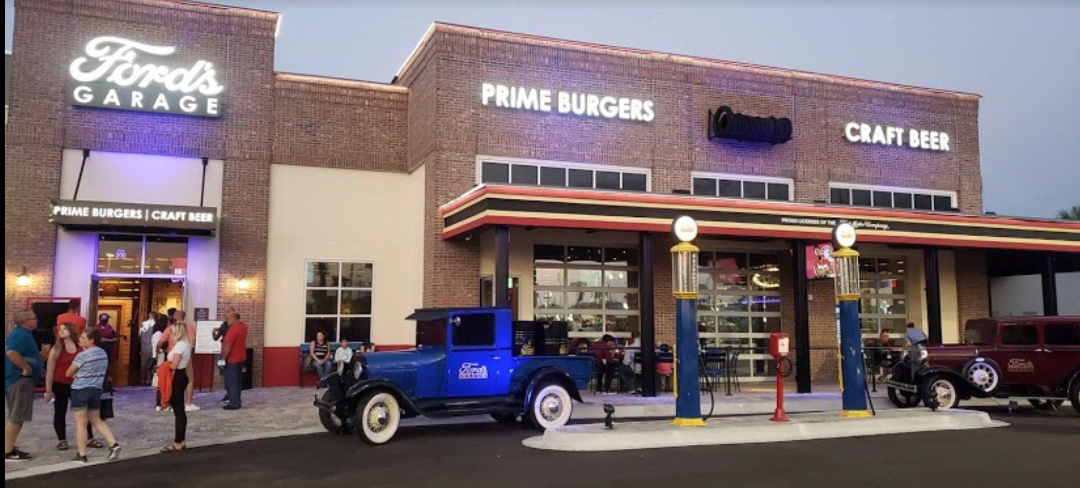 Ford's Garage Restaurant and Bar at Bozard Ford
