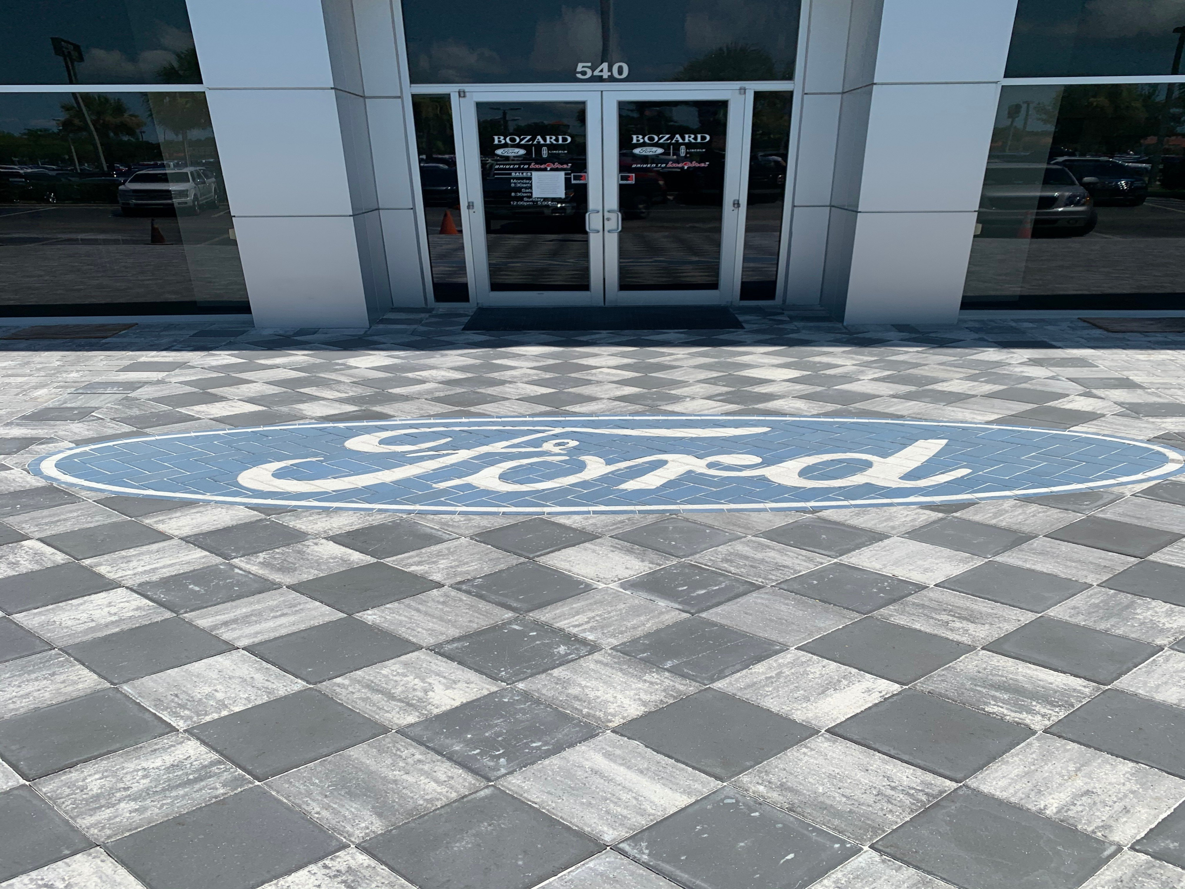 Ford Pavers