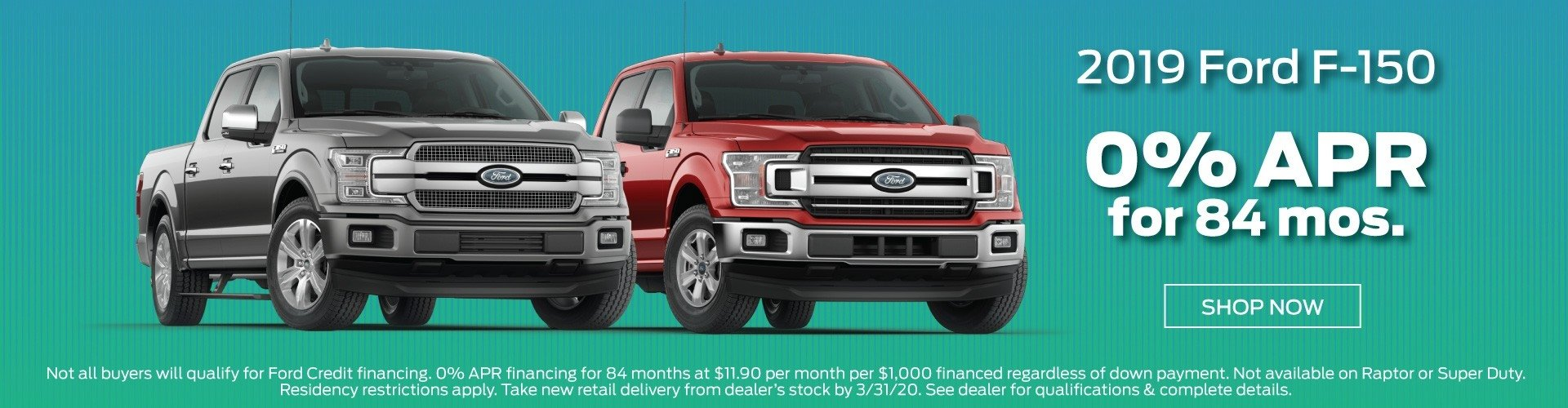 2019 Ford F150 Offer 3-2020