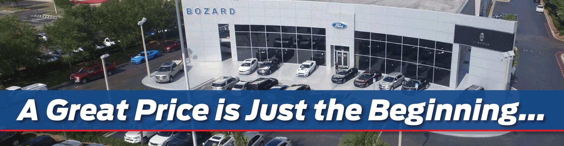 Bozard Ford Premier Ford Dealer Near Jacksonville FL - Ford edge invoice price