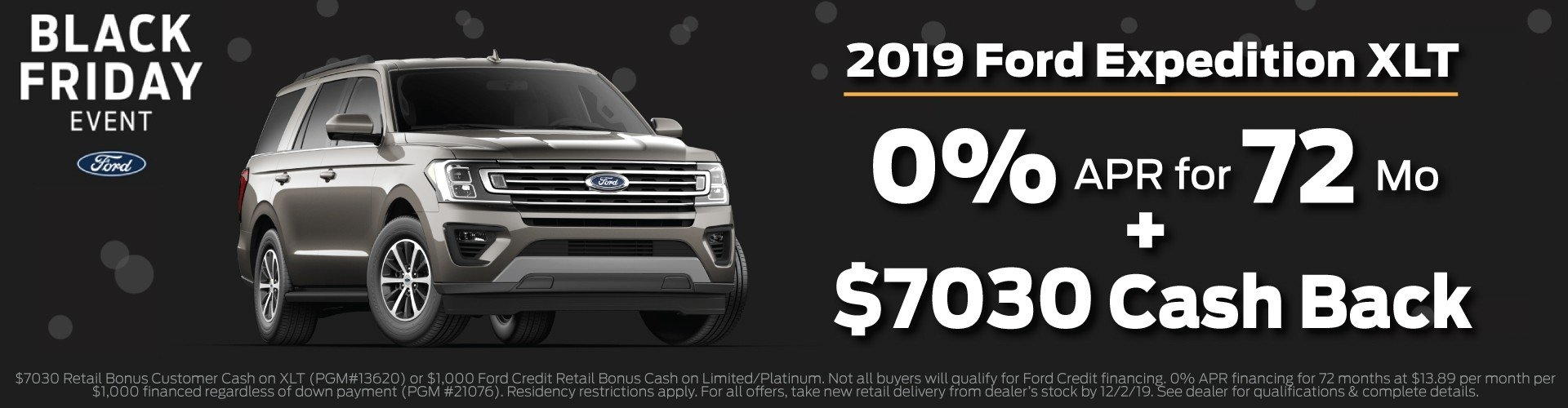 2019 Ford Expedition Offer 12-2-19