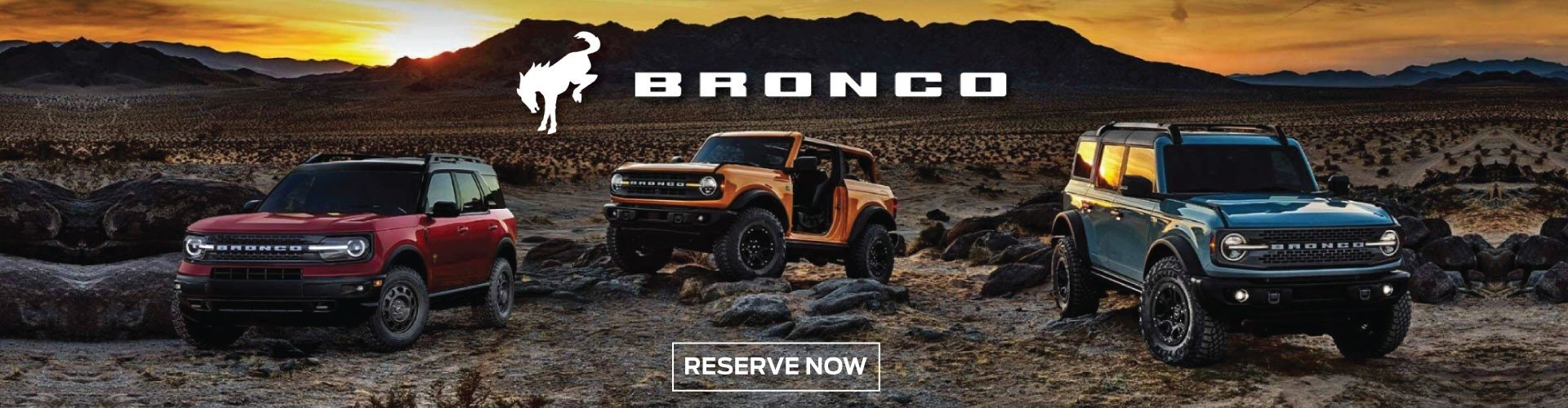 2021 Ford Bronco Reserve Now