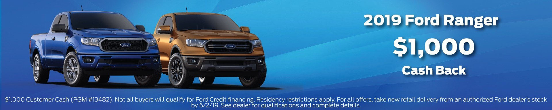 2019 Ranger Incentives 6-2-2019