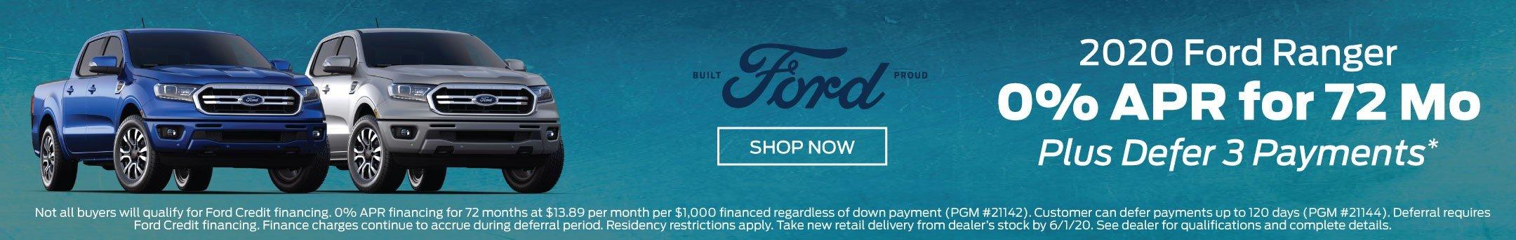 2020 Ford Ranger Offer 5-2020