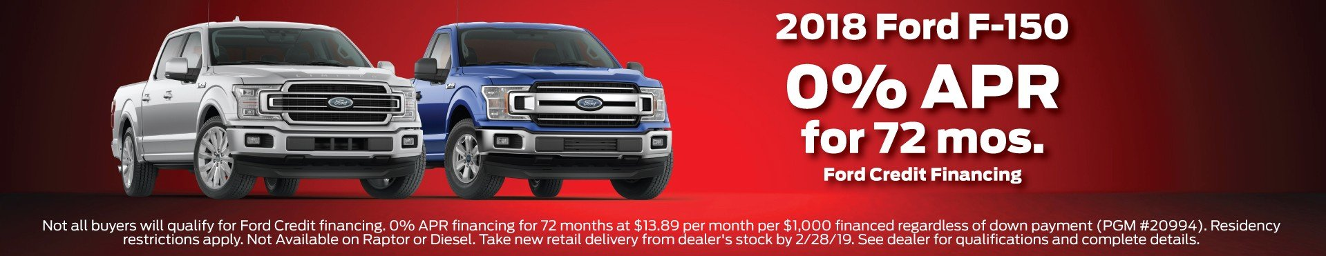 2018 Ford F150 Offer 2-2019