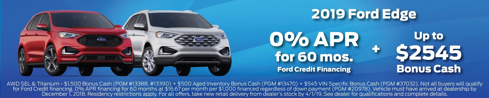 2019 Ford Edge Offer 3-2019