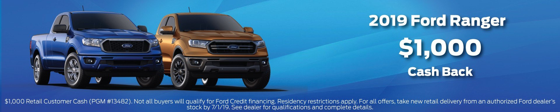 2019 Ranger Incentive 7-1-2019