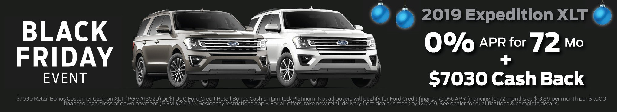 2019 Expedition XLT Incentive 12-2-2019