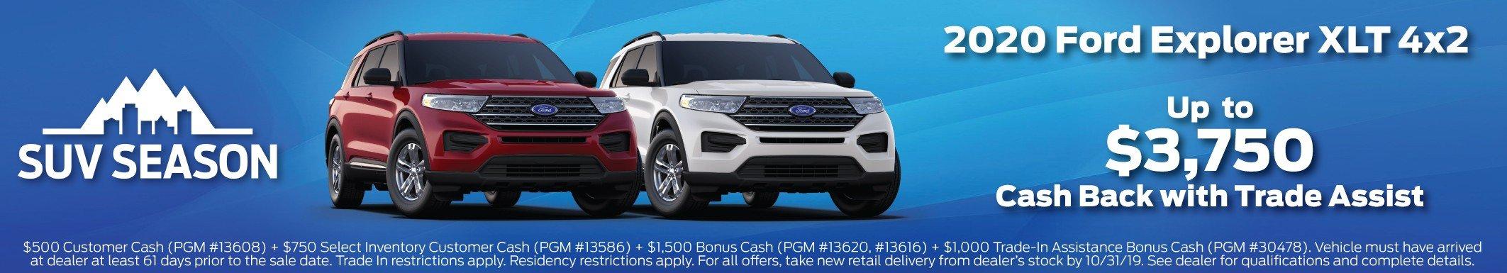 2020 Explorer Incentive 10-31-2019