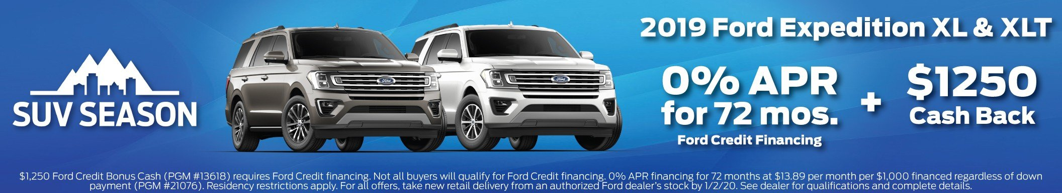 2019 Expedition Incentive 10-31-2019