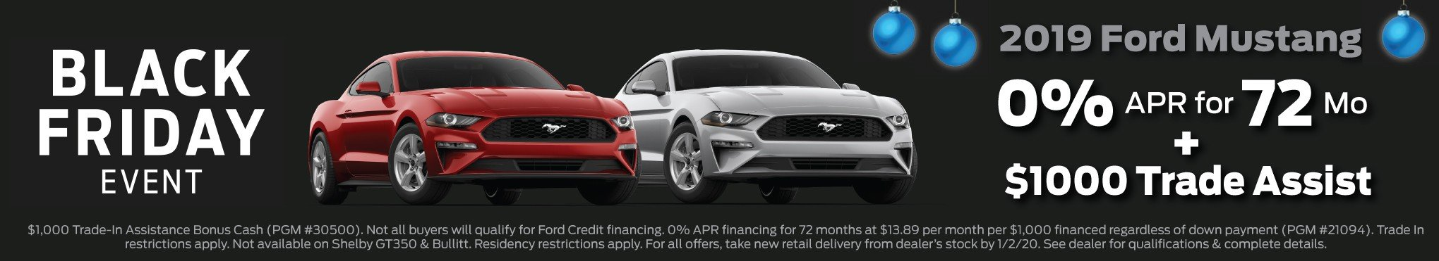 2019 Mustang Incentive 12-2-2019