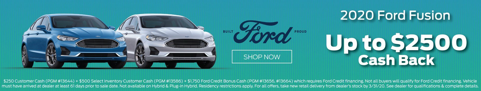 2019 Ford Fusion Offer 3-2020