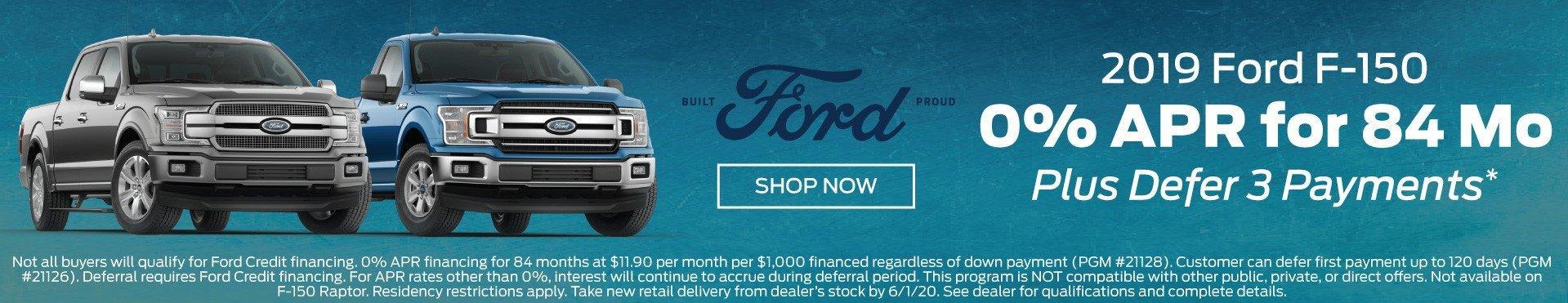 2019 F-150 Incentive 6-1-2020