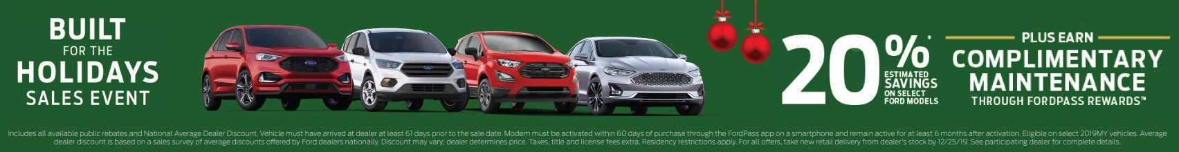 2019 Ford Black Friday Offer 12-25-2019