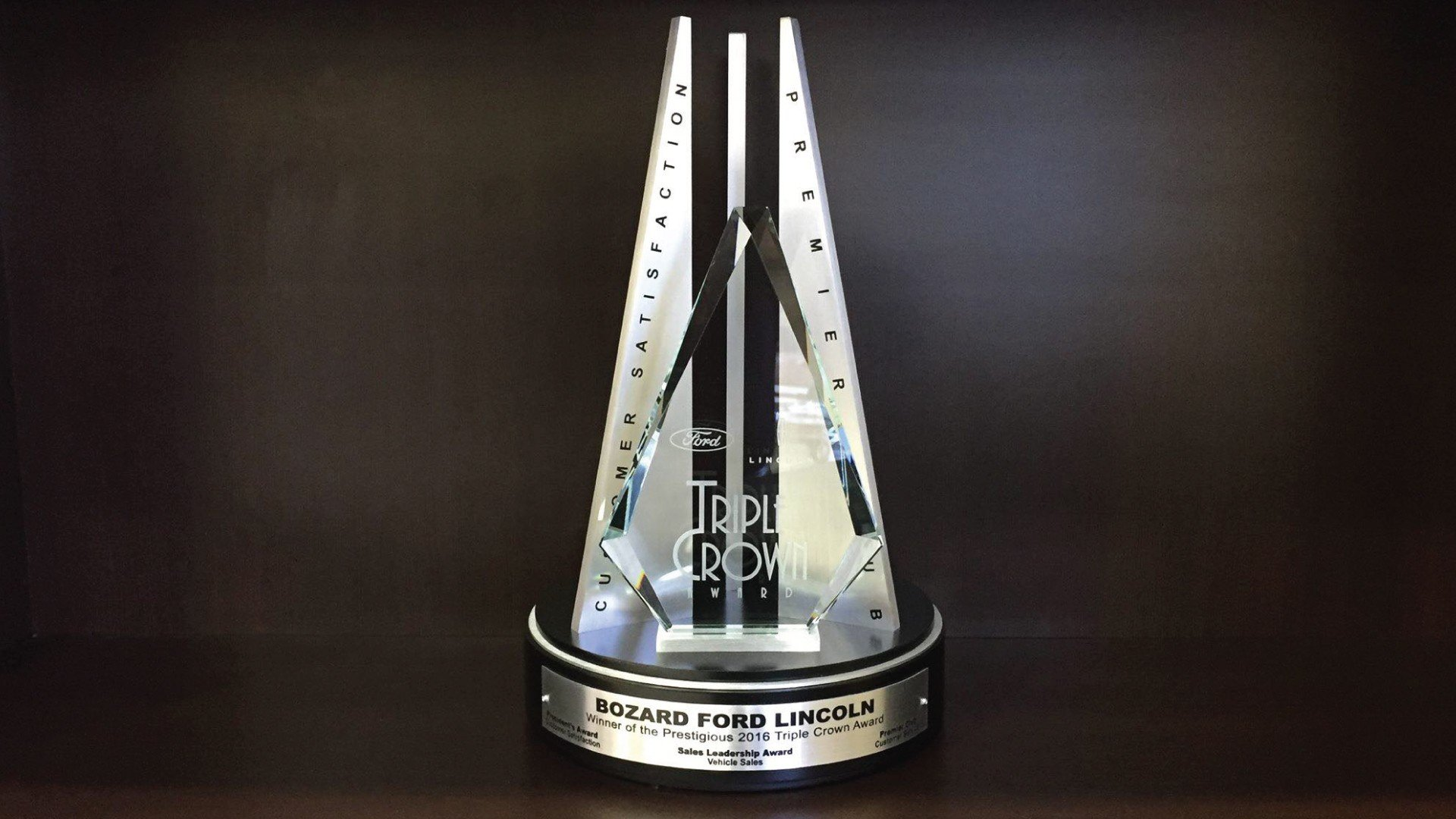 Bozard Ford Triple Crown Award