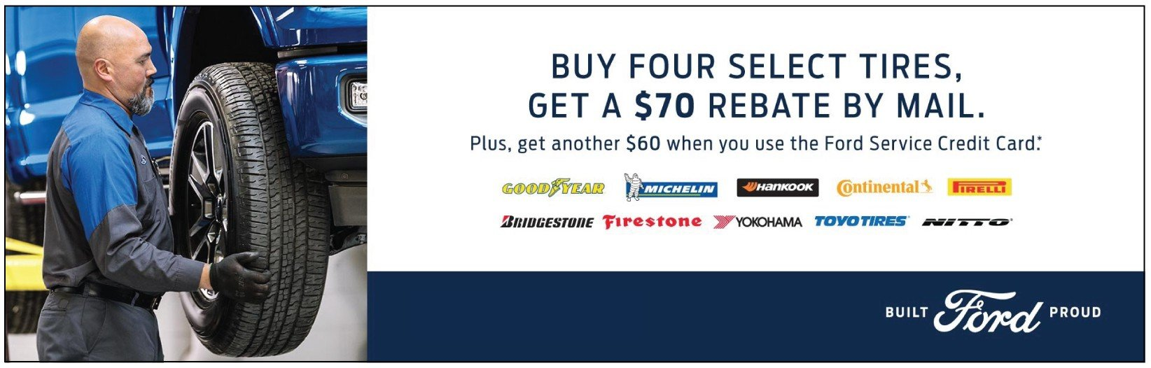 Bozard Ford Tire Rebate 6-2019
