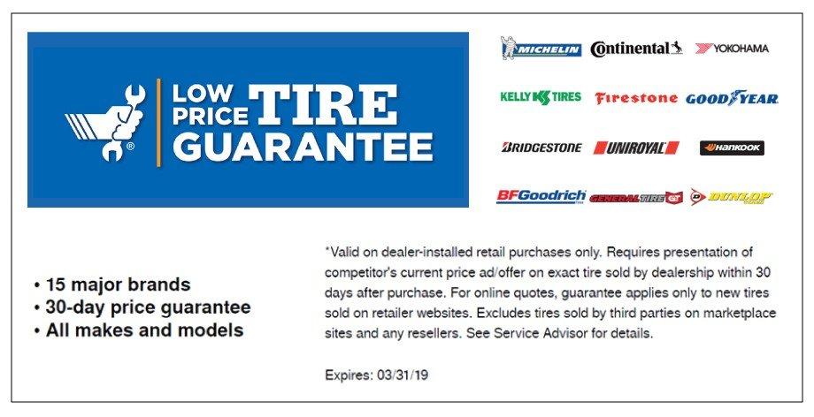 Low Price Tire Guarantee 3-2019