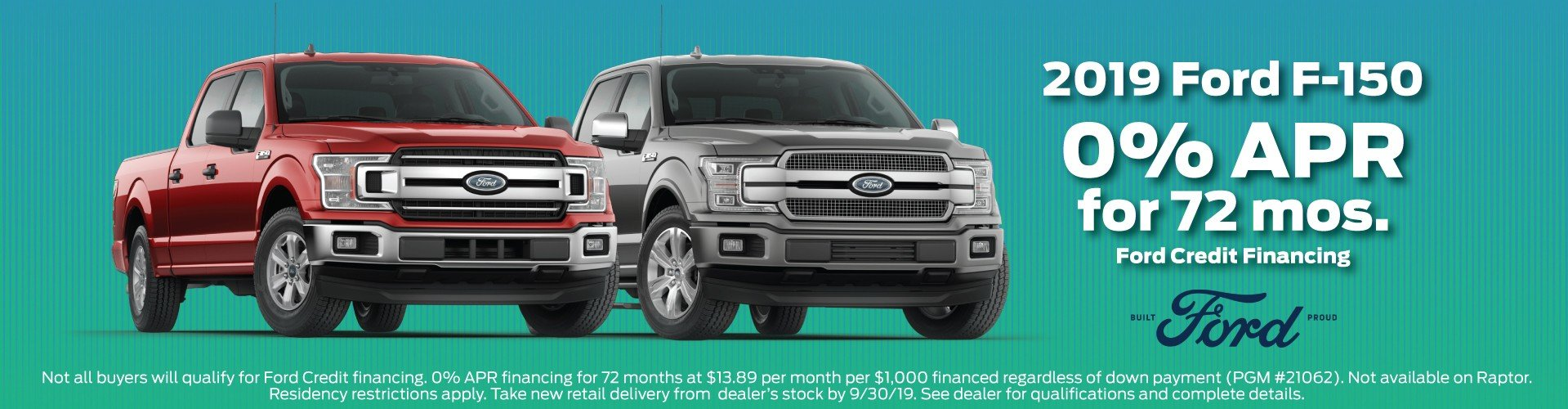 2019 Ford F150 Offer 7-2019
