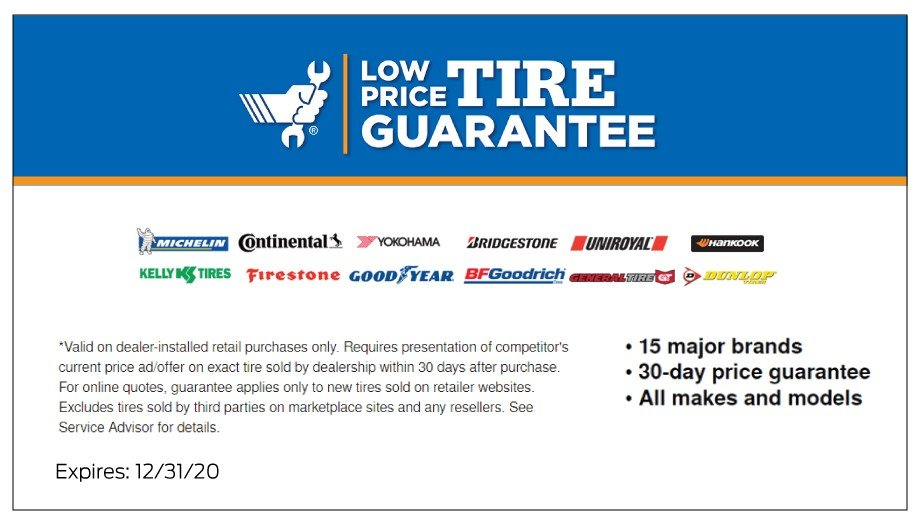 Low Price Tire Guarantee 12-2020