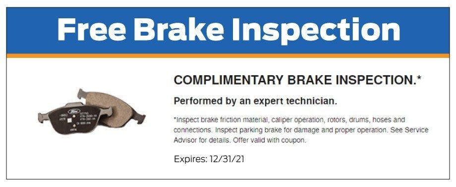 Free Brake Inspection 12-2021