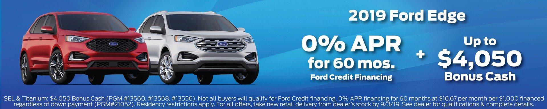 2019 Ford Edge Offer 7-2019