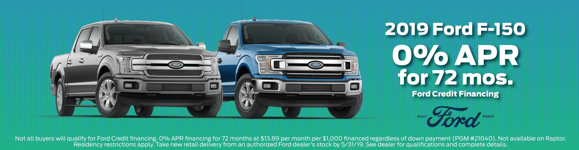 2019 Ford F150 Offer 5-2019