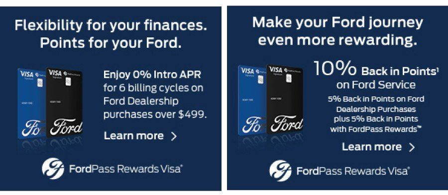 Ford Pass Rewards VISA 2020