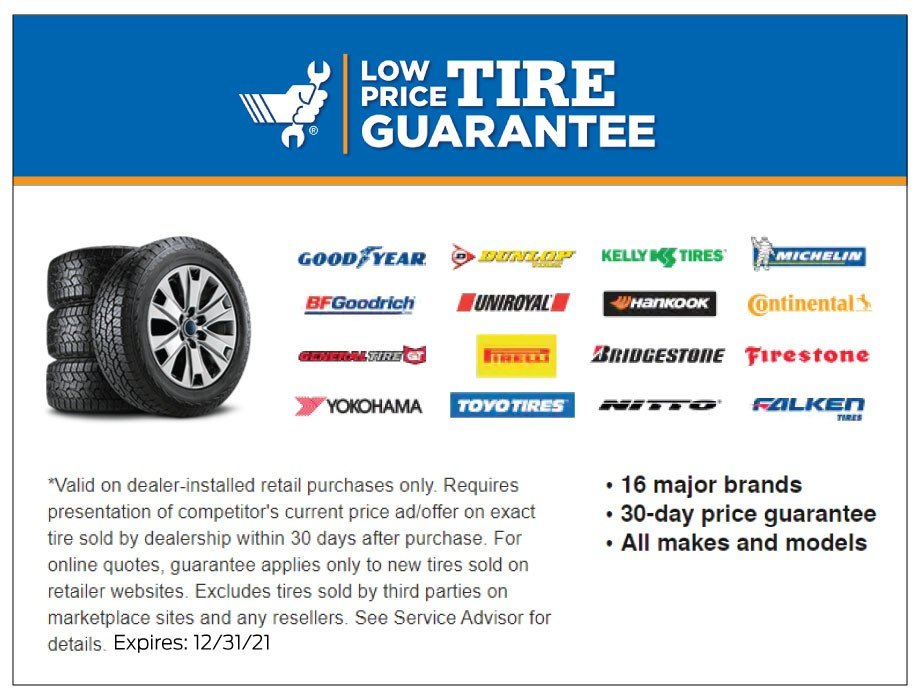 Low Price Tire Guarantee 12-2021