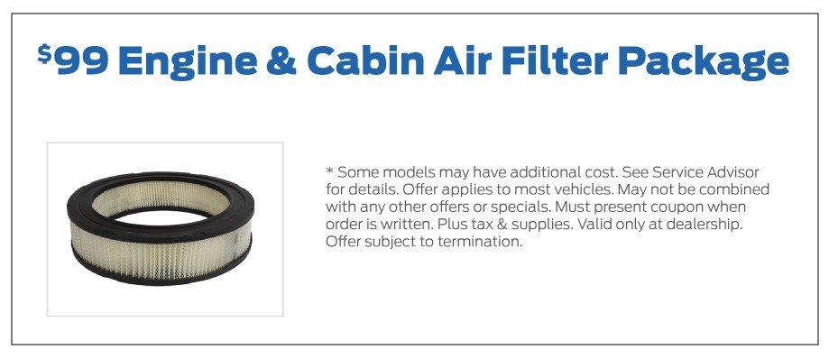 Air Filter Special 12-2019