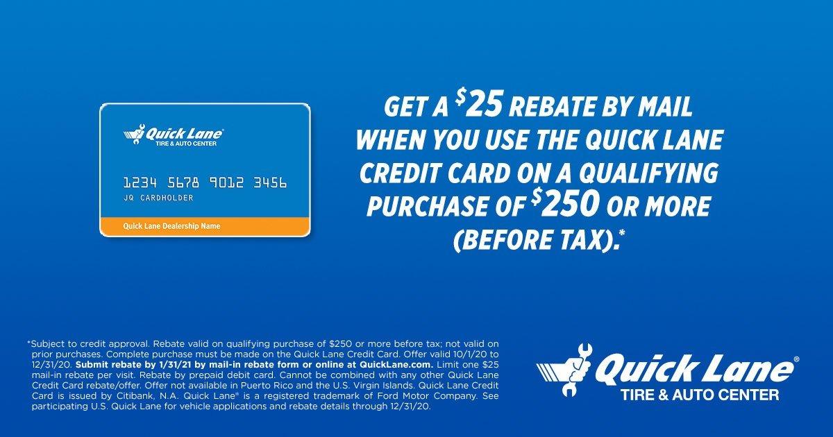 Credit Card Rebate 12-31-20