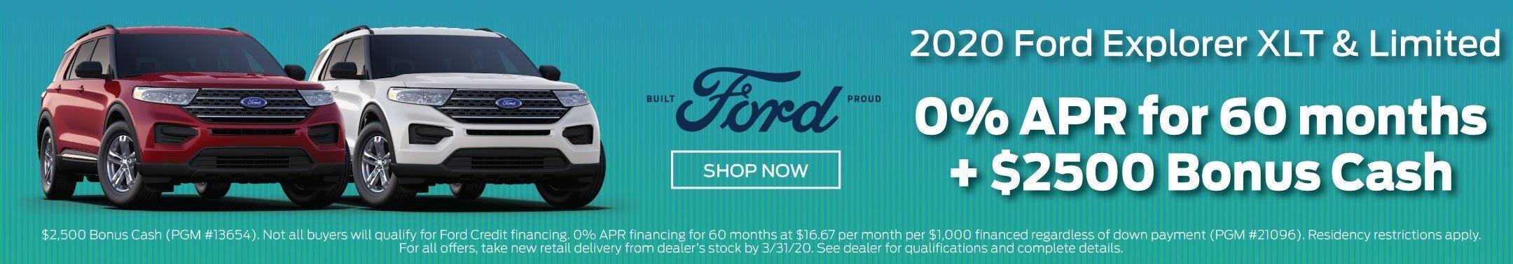 2019 Ford Explorer Offer 2-2020