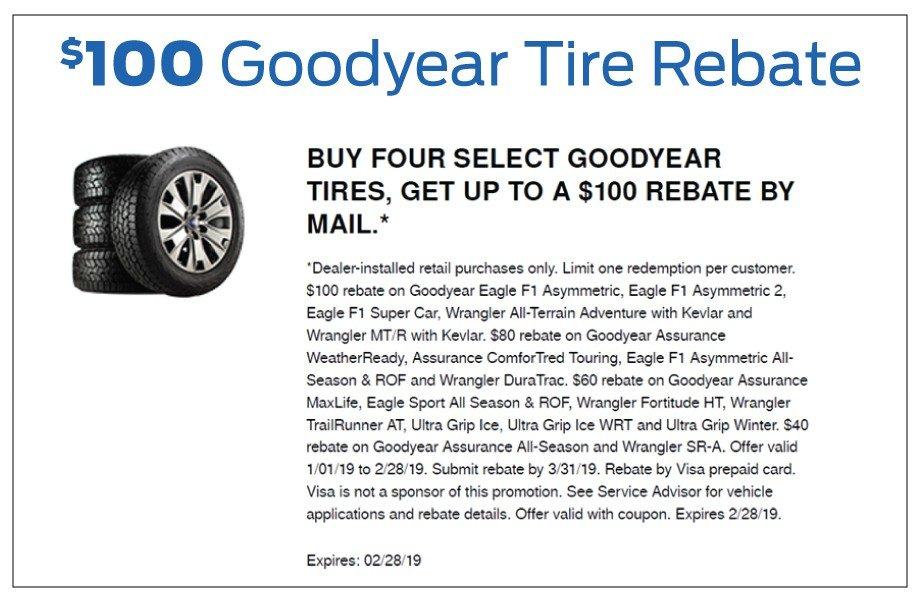 Bozard Ford Goodyear Tire Rebate 2-2019