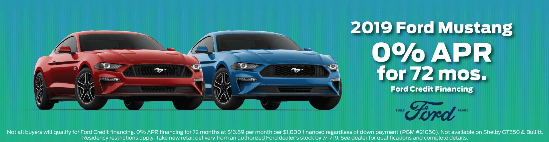2019 Ford Mustang Offer 5-2019
