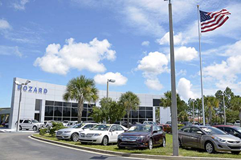 outside view of our Ford dealership in St. Augustine