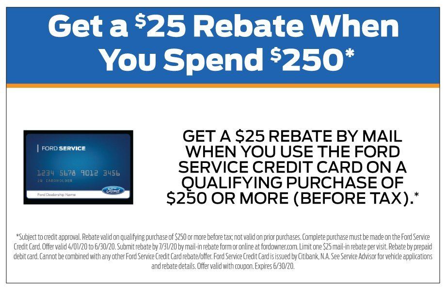 Credit Card Rebate 6-30-20
