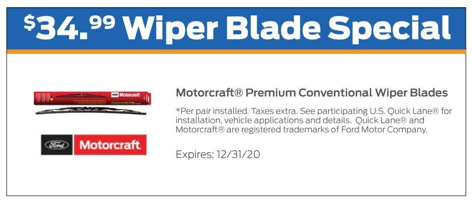 Wiper Blades Offer 12-2020