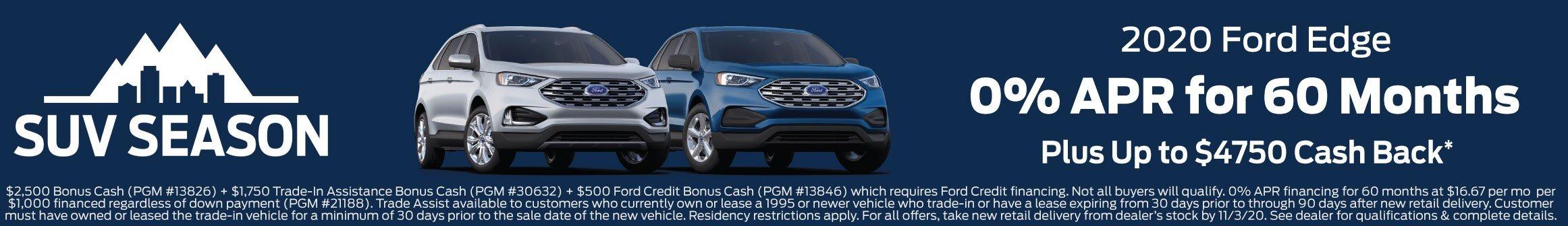 Ford Edge Offer 11-3-2020