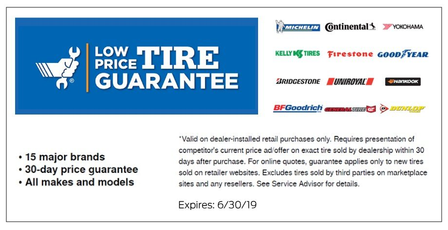 Low Price Tire Guarantee 3-2019
