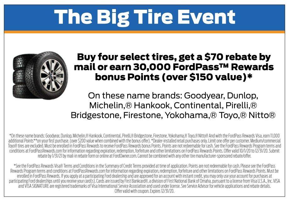 Tire Rebate 12-31-2020