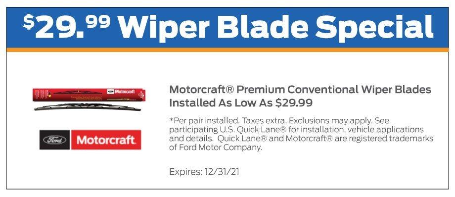 Wiper Blades Offer 12-2021