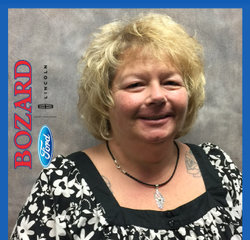 Title Clerk Nancy Simcoe in Administrative at Bozard Lincoln