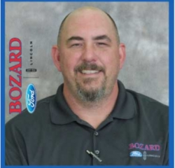 Accessories Associate Adam Schointuch in Parts at Bozard Ford Lincoln